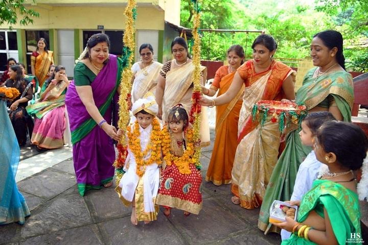 Vatsalya Senior Secondary School-Festival Celebration