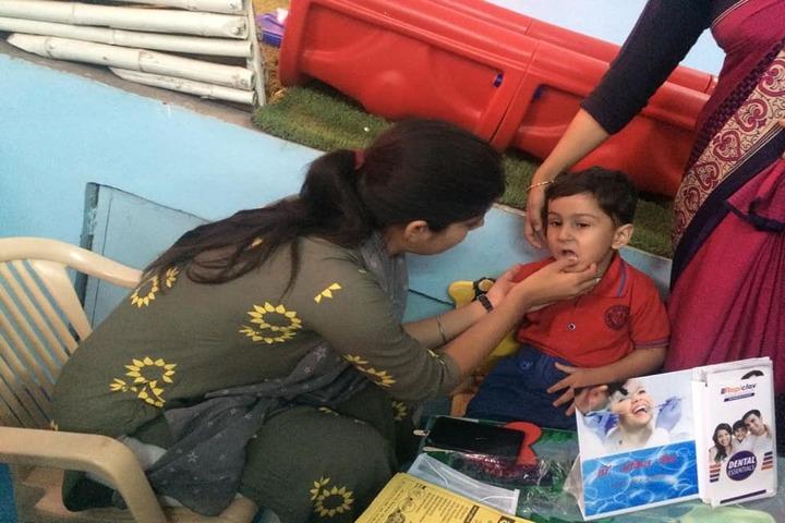 Vidya Bhavan Public School-Medical Camp