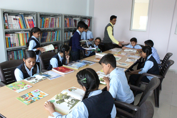 Vidyakunj International School-Library
