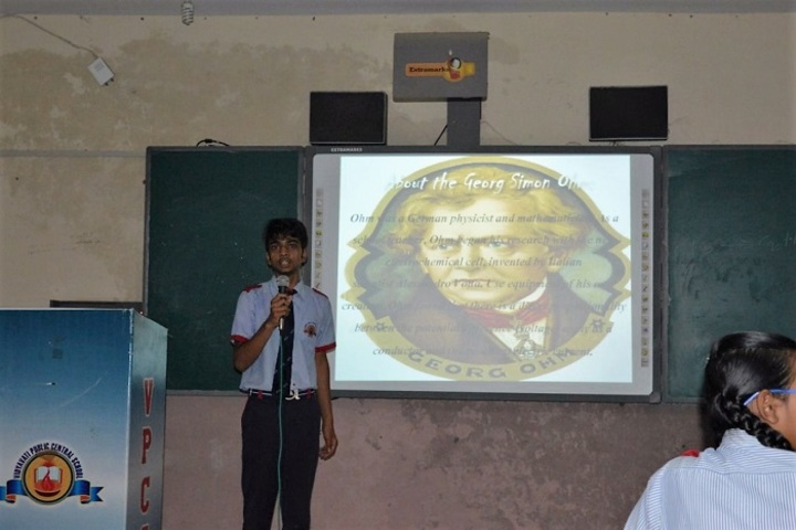 Vidyavati Public Central School-Seminar