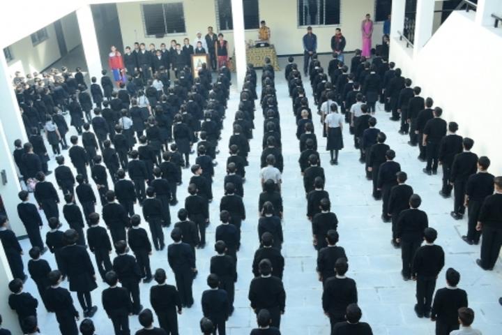 Vidyodaya International School-Assembly