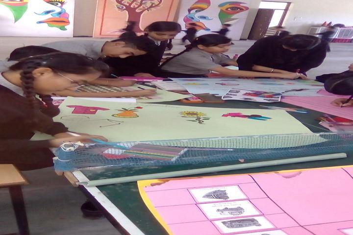 Vidyodaya International School-Class activity