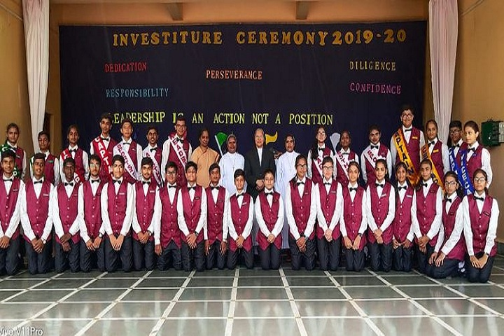 VIMLA CONVENT HIGHER SECONDARY SCHOOL-Investiture Ceremony