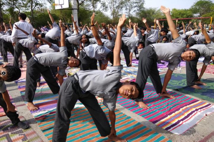 Vindhyachal Academy-Yoga