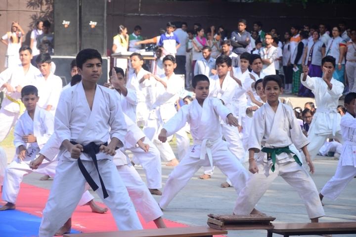 Vindhyachal Academy-Karate
