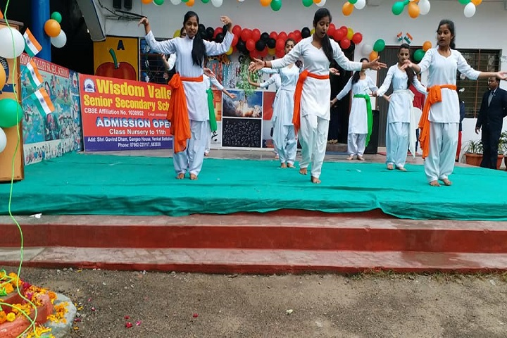 Wisdom Valley Secondary School Rewa-Republic day celebrations
