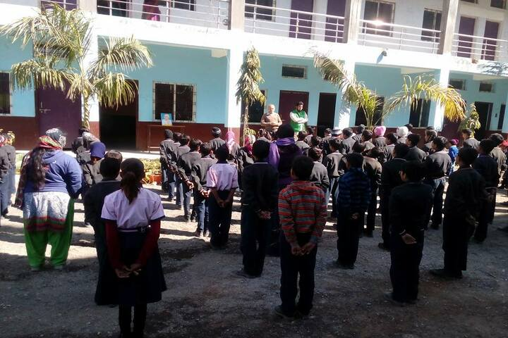 World Way School-Assembly