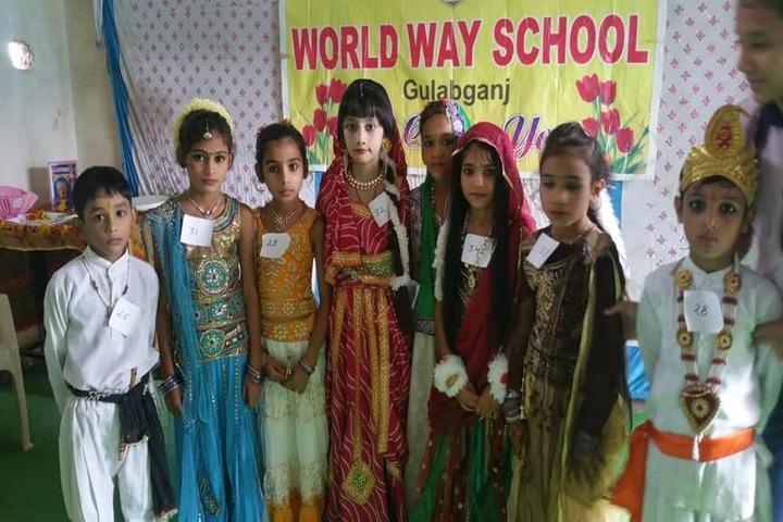World Way School-fancy dress