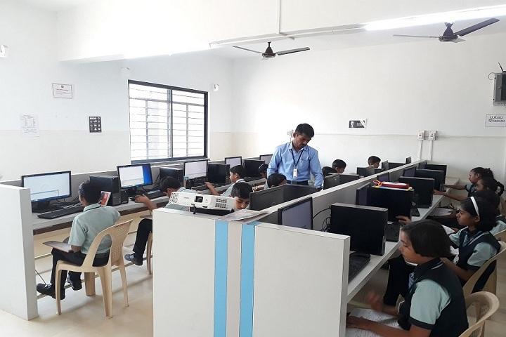 Aarya Public School-IT-Lab full view