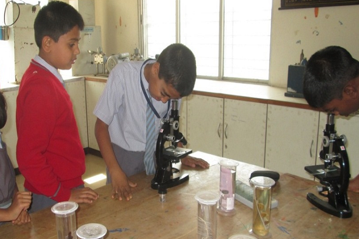 Abhinav English School-Laboratory biology