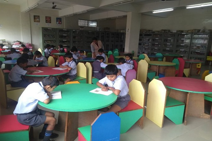 Abhinav English School-Library
