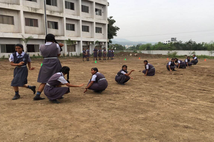 Abhinav English School-Sports kho kho