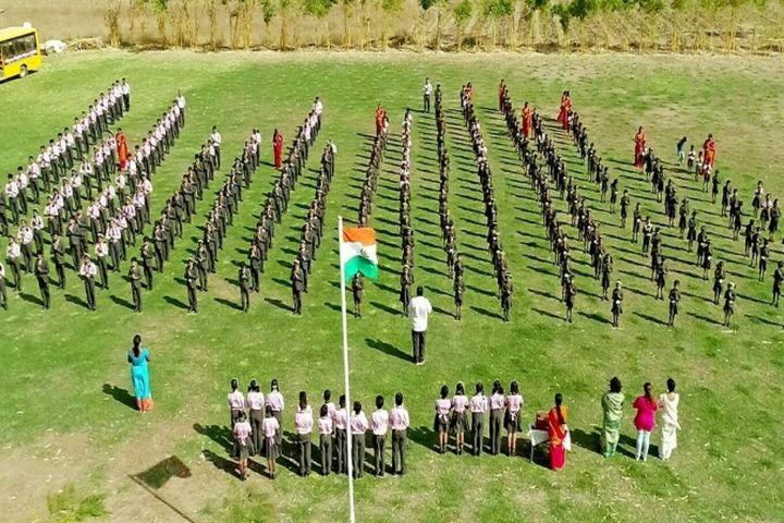 Abhyasa English School-Assembly Ground