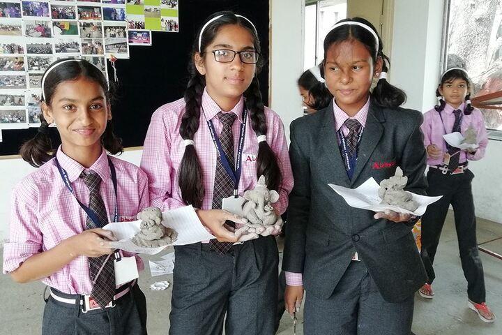 Abhyasa English School-Ganesh Make over