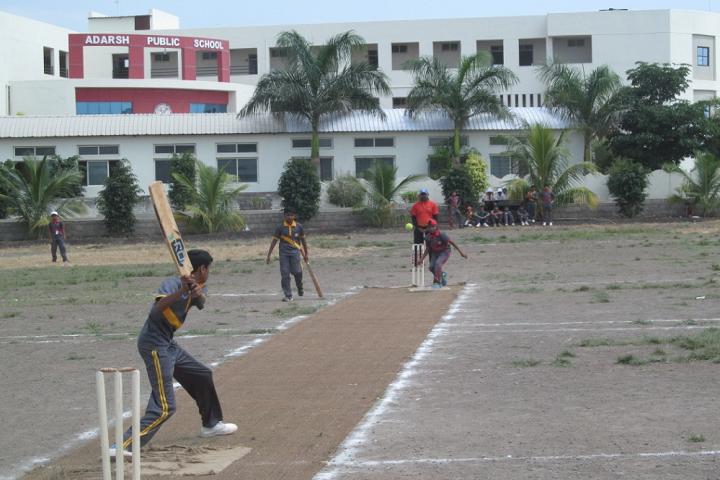 Adarsh Public School-Sports cricket