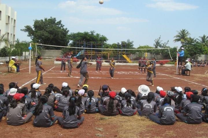 Adarsh Public School-Sports volleyball