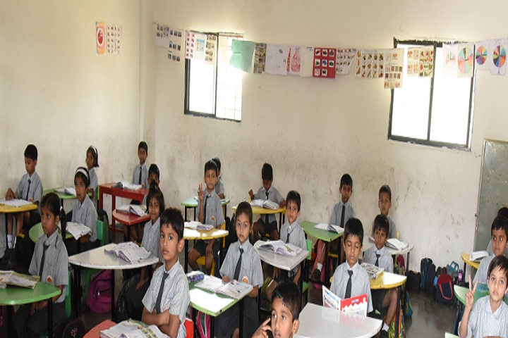 Aditya English Medium School-Classroom