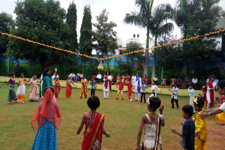 Aditya English Medium School-Janmashtami