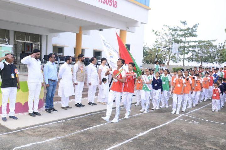 Adv Lalita Patil International School-March Past