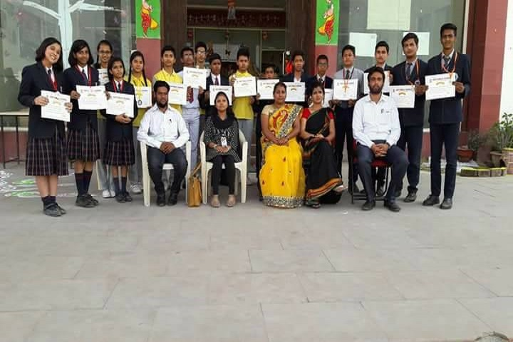 AGP Public School-Inter School Science Project Competition Winner