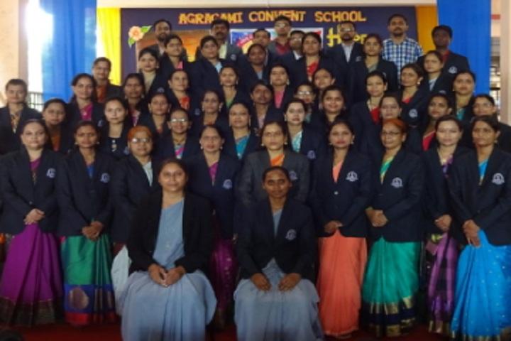 Agragami Convent School-Staff photo