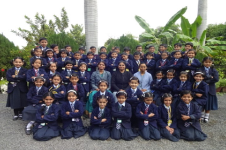 Agragami Convent School-Students group photo