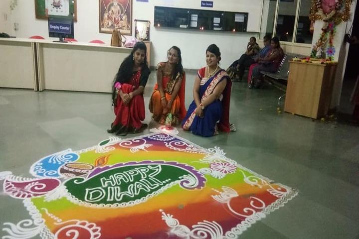 Agrasen Vidya Mandir-Rangoli Competition