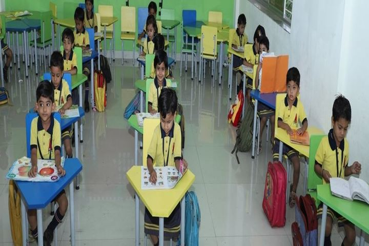 Ahinsa International School-Classroom