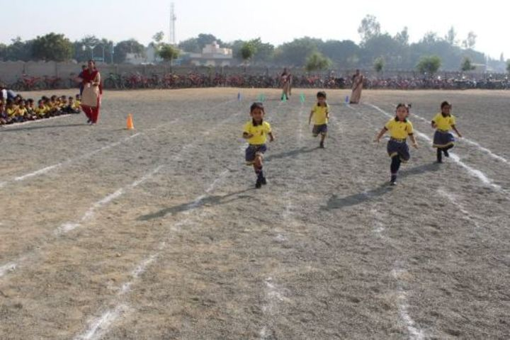 Ahinsa International School-Running Race