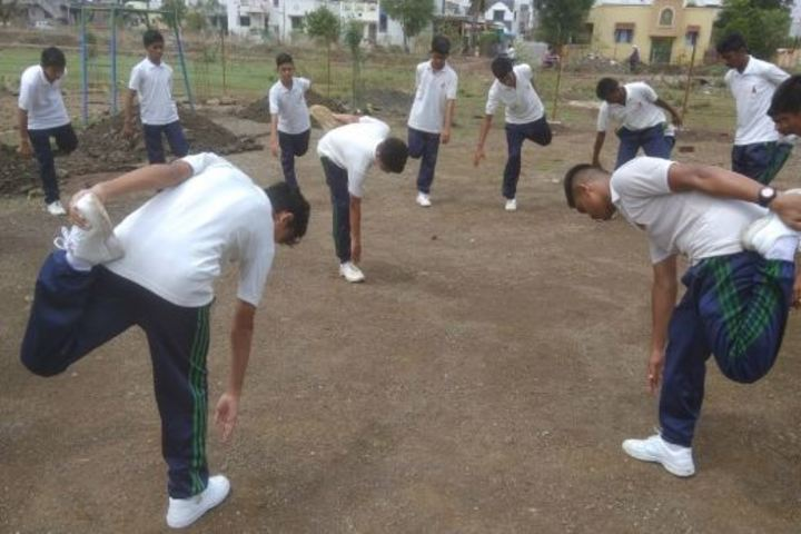 Ahinsa International School-Warmup