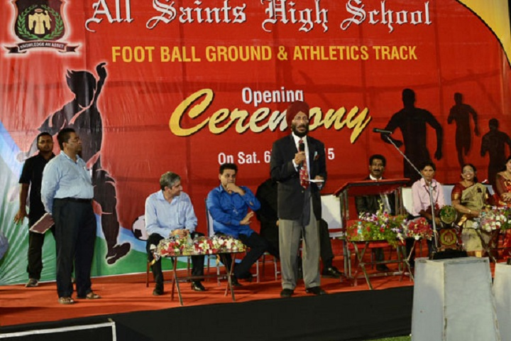 All Saints High School-Events ceremony