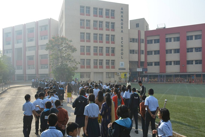 Amanora School-Campus View
