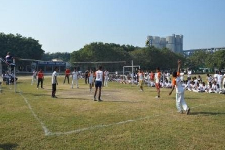 Ambuja Vidya Niketan-Sports volleyball