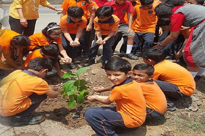 Amrishbhai R Patel School-Others plantation