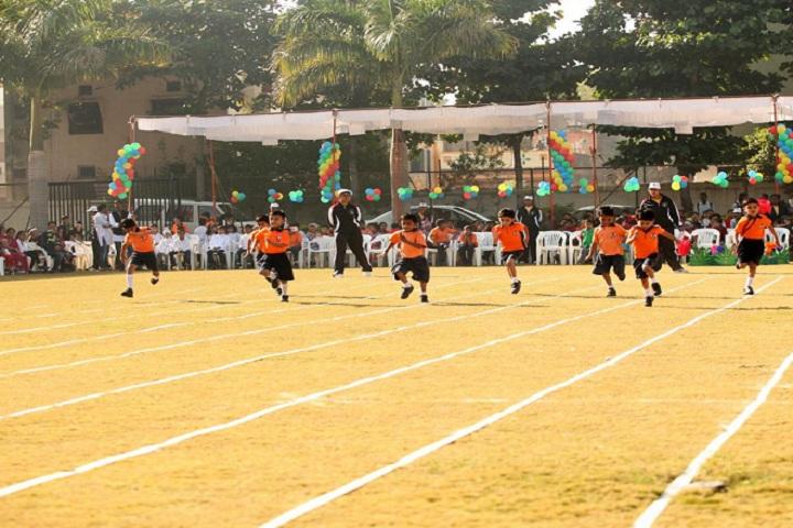 Amrishbhai R Patel School-Sports running