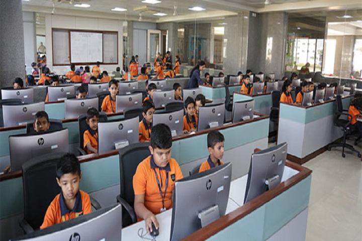 Amrishbhai R Patel School-IT-Lab