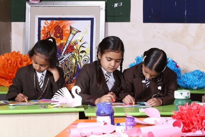 Anil Jindal World School-Art and Craft Room