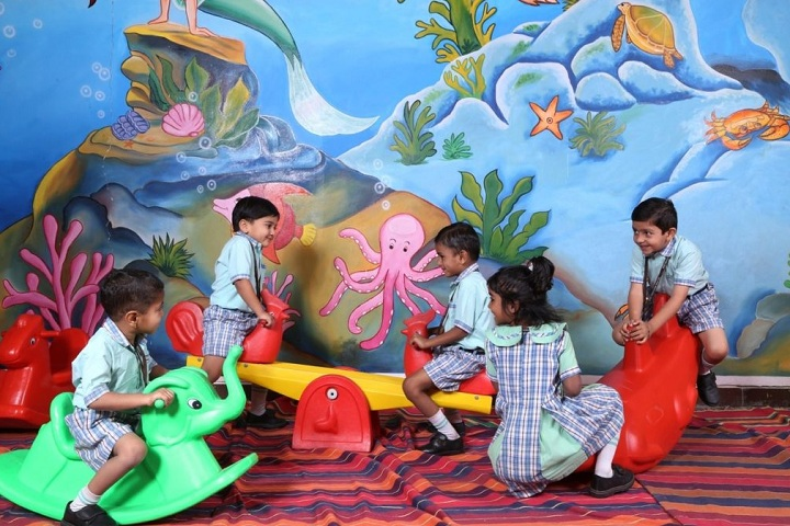 Anil Jindal World School-Children Playing Room