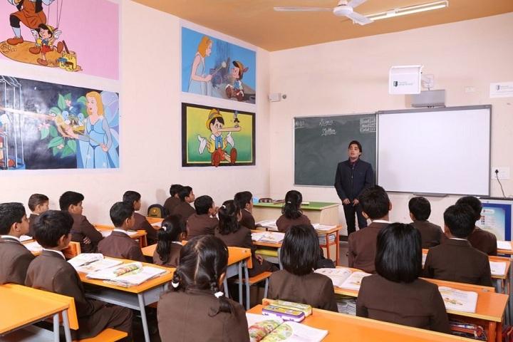 Anil Jindal World School-Classroom