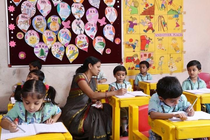 Anil Jindal World School-Drawing Room