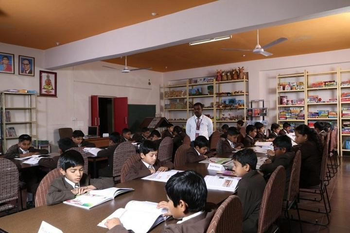 Anil Jindal World School-Library