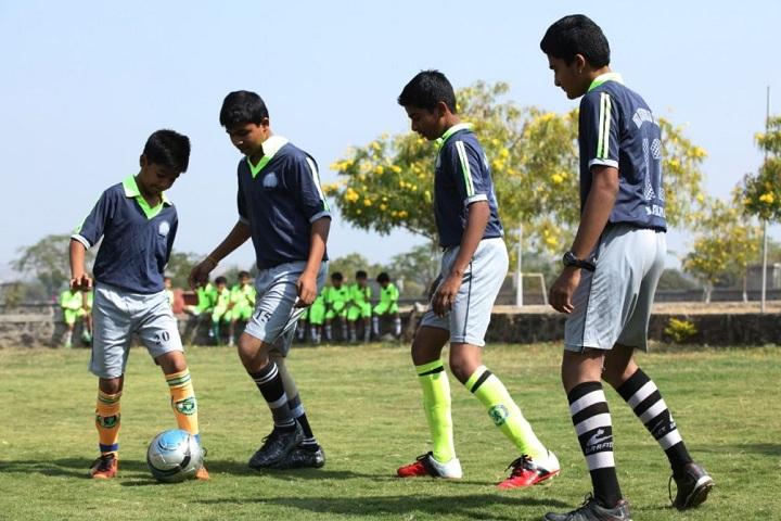 Anil Jindal World School-Sports Foot ball