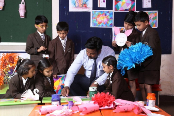 Anil Jindal World School-Student Activity