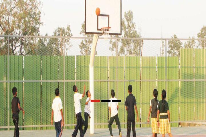 Anisha Global School-Basket Ball Court