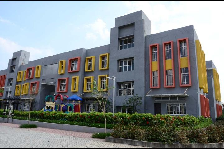 Anisha Global School, Marunji - School Building