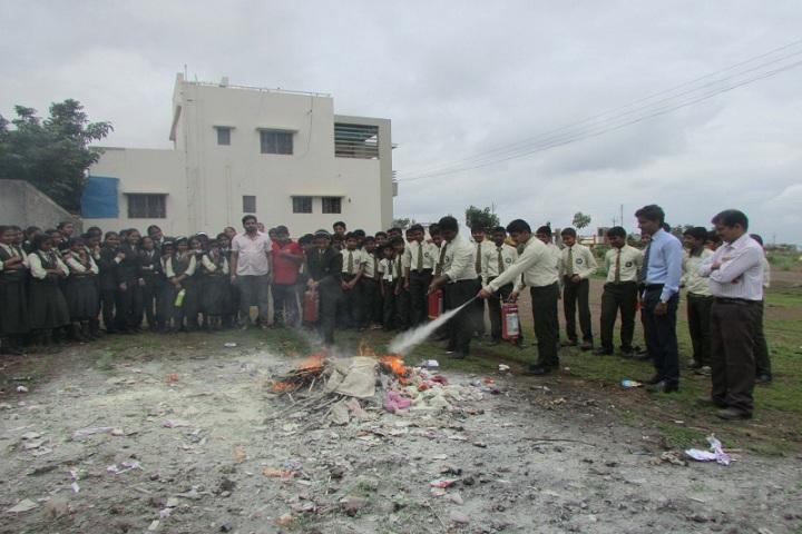 Annasaheb Balasaheb Chakote English School-Demo Of Fire Safety