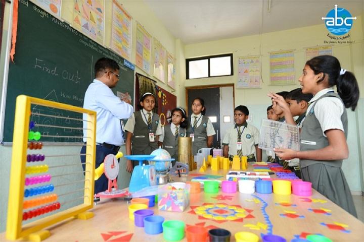 Annasaheb Balasaheb Chakote English School-Maths Lab