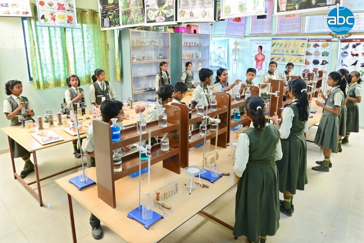 Annasaheb Balasaheb Chakote English School-Science Lab