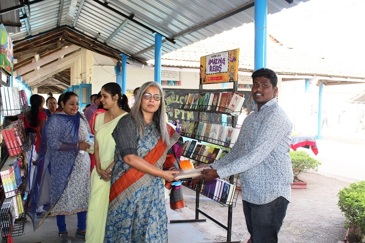 Army Public School-Books Exhibitions