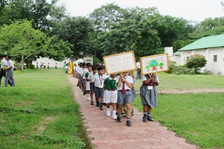 Army Public School-Green Day